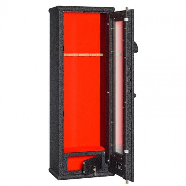 Safe cabinet for weapons Metalk Pancerglass Crocodile Premium