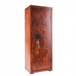 180° wood weapon cabinet